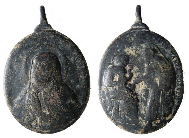 Santa Teresa de Jesús / Sta Maria Magdalena de Pazzi - Hamerani. S. XVII (R.M. SXVII-O421) Th_avi10