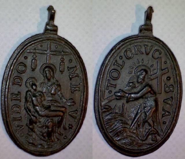 Virgo de la Piedad - Cristo camino del calvario (R.M. SXVII-O424) 1447_v10