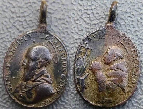 S. Francisco de Sales- Santo Tomas de Villanueva - Alberto Hamerani (?) (R.M. SXVII-O445) Www-0010