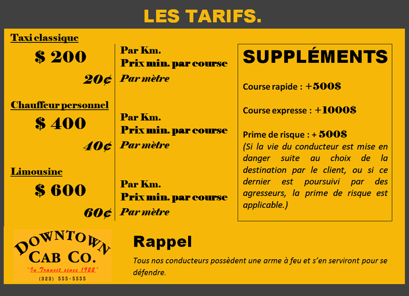 Demande - Création entreprise Tarif10