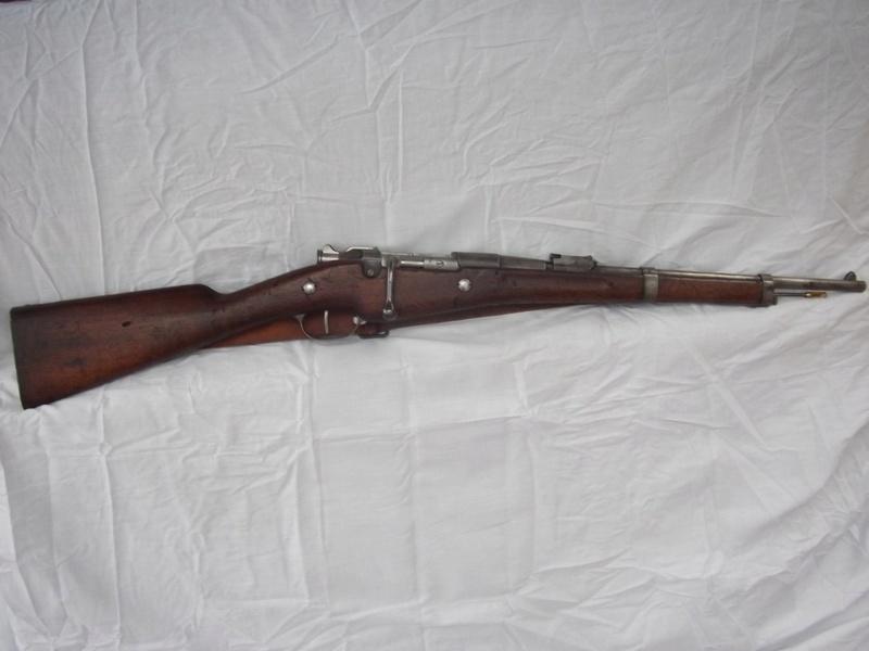 Carabine de cavalerie Berthier Mle 1890 modifiée 1915  02611