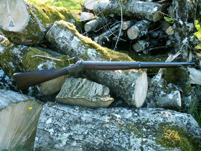 monocoup réglementaire américaine: Winder Musket Winchester... what else? Pict0026