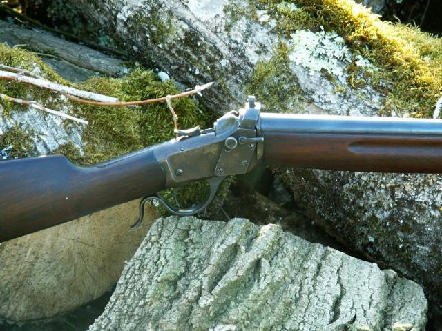 monocoup réglementaire américaine: Winder Musket Winchester... what else? Pict0027