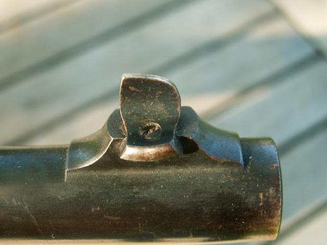monocoup réglementaire américaine: Winder Musket Winchester... what else? Pict0029