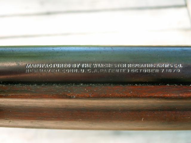 monocoup réglementaire américaine: Winder Musket Winchester... what else? Pict0031