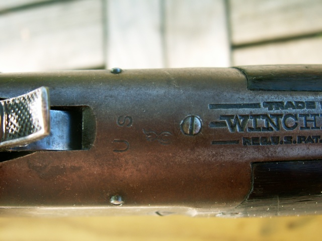 monocoup réglementaire américaine: Winder Musket Winchester... what else? Pict0033