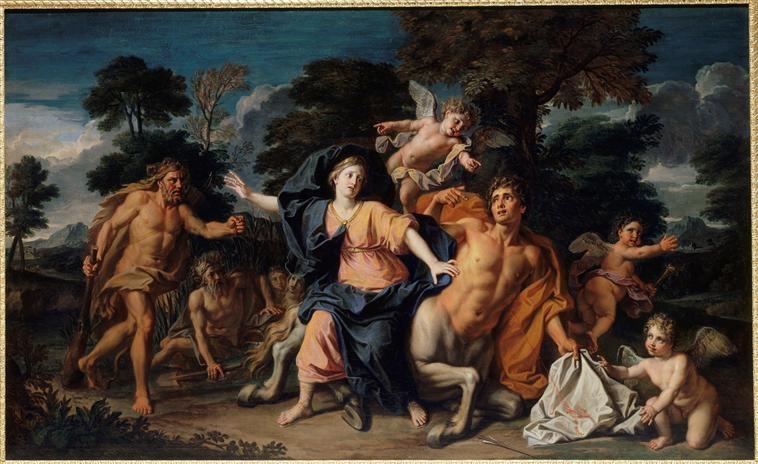 Le centaure, une créature fabuleuse à Versailles  Img_2916