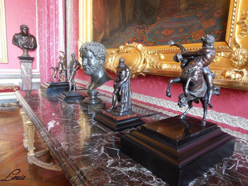 Le centaure, une créature fabuleuse à Versailles  P8290310