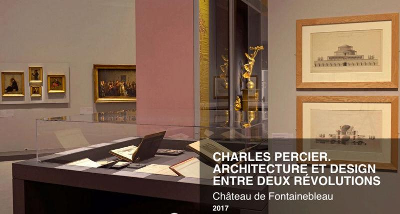 Fontainebleau : exposition Charles Percier, en 2017 Perc110