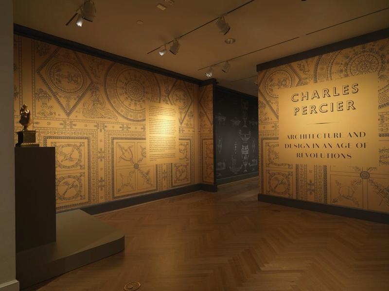 Fontainebleau : exposition Charles Percier, en 2017 Percie10