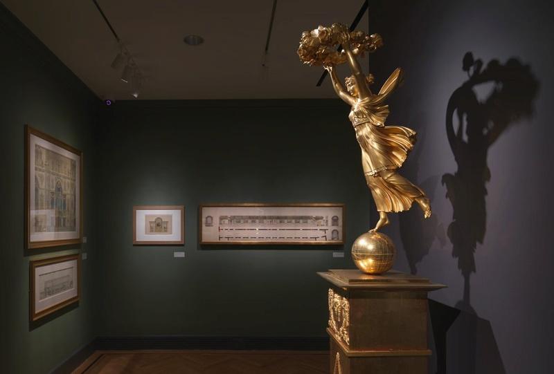 Fontainebleau : exposition Charles Percier, en 2017 Percie11