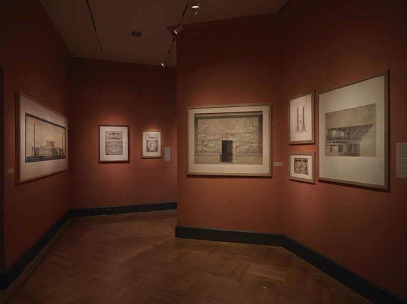 Fontainebleau : exposition Charles Percier, en 2017 Percie12