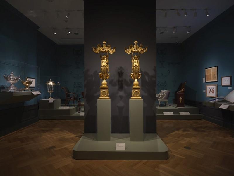 Fontainebleau : exposition Charles Percier, en 2017 Percie13