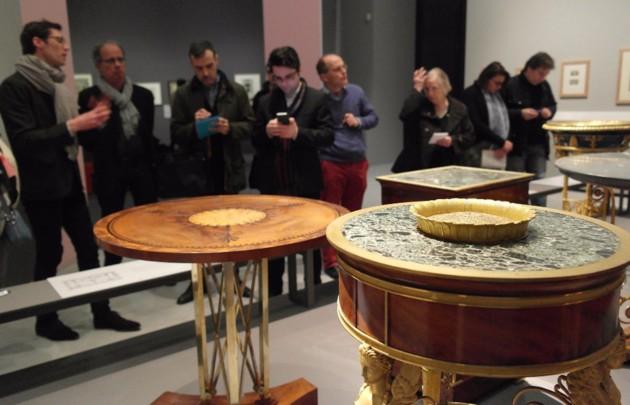 Fontainebleau : exposition Charles Percier, en 2017 Percvi10