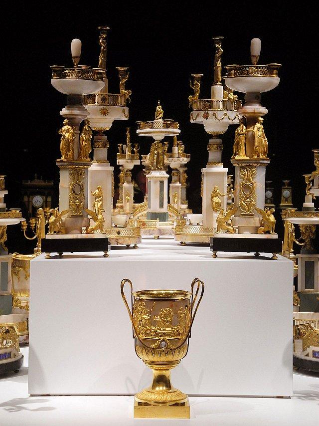 Exposition : Le surtout offert par Charles IV à Napoléon 1er S210