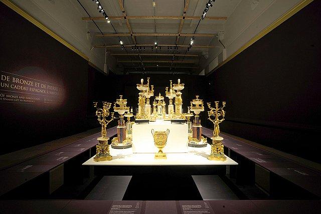 Exposition : Le surtout offert par Charles IV à Napoléon 1er S310