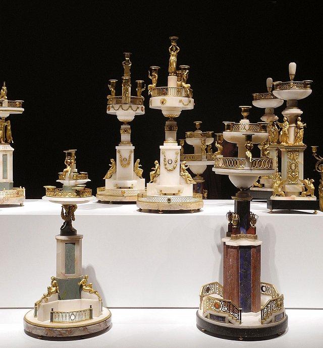Exposition : Le surtout offert par Charles IV à Napoléon 1er S410