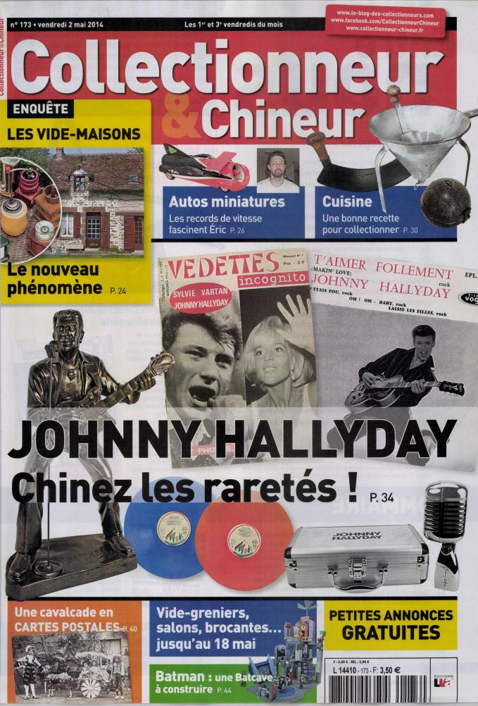 Collectionneur & Chineur n° 173 du 02 mai 2014 L4410111