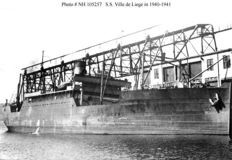 Navires marchands belges coulés lors de la 2ème guerre - Page 6 Ville_11