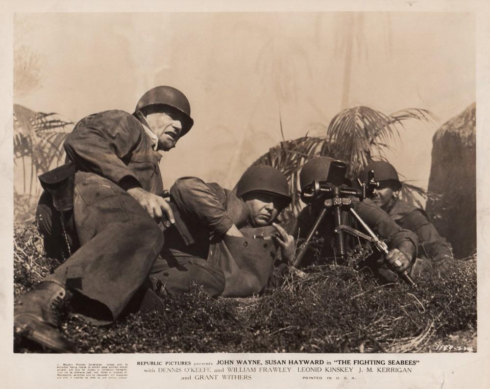 Alerte aux Marines - The Fighting Seabees - 1944 Wayne320