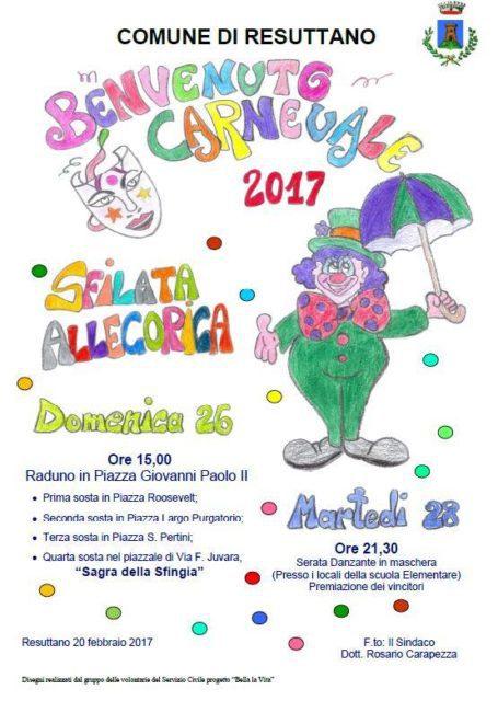 """Sagra della Sfingia"""" per Carnevale a Resuttano Resutt11"""