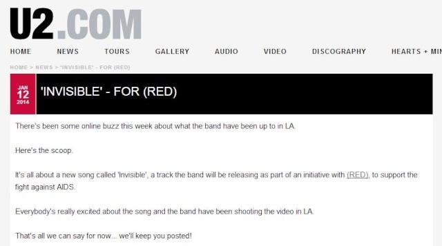 INVISIBLE: il nuovo pezzo degli U2 per (RED)! Immagi11