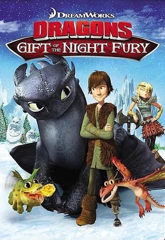 Dragons : Le cadeau du furie nocturne (2011) DreamWorks Affich10