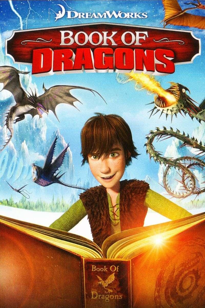 Dragons : le livre des dragons (2011) DreamWorks Book_o10