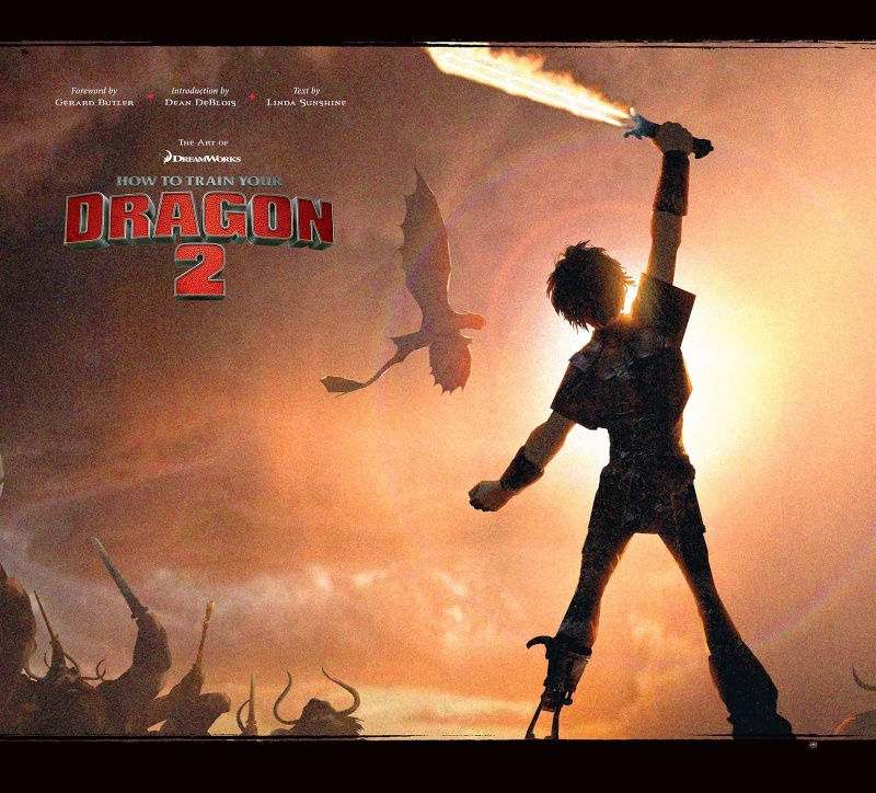 The art of How to train your dragon 2 Cover11