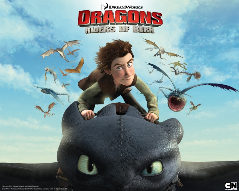 Dragons saison 1 : Cavaliers de Beurk (2012) DreamWorks Dragon10