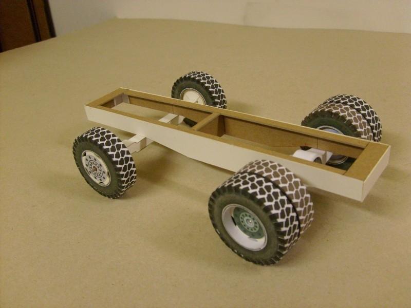 """Kranwagen """" PUMA"""" Eigenbau M1:20 gebaut von klebegold 32k12"""