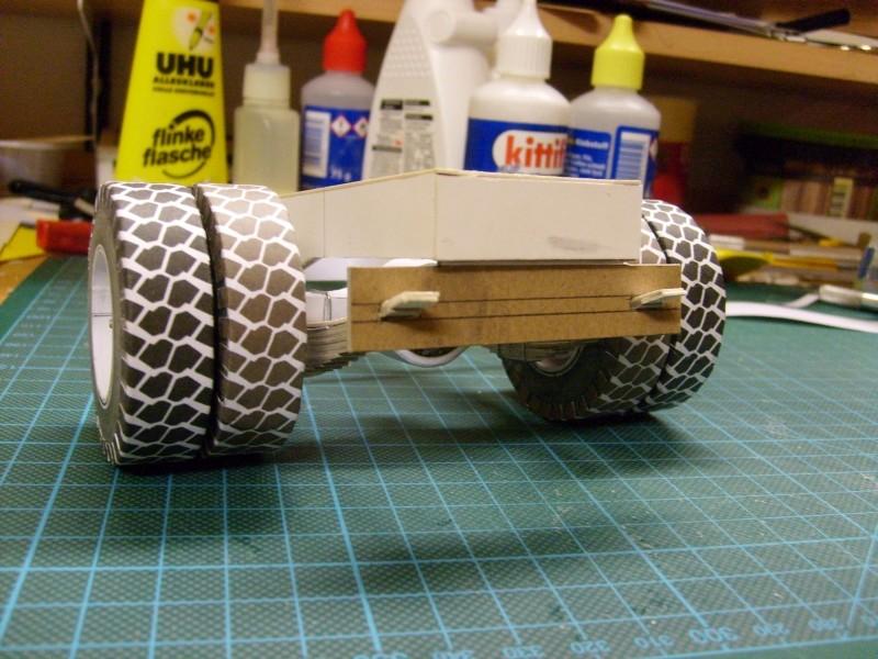 """Kranwagen """" PUMA"""" Eigenbau M1:20 gebaut von klebegold 41k11"""