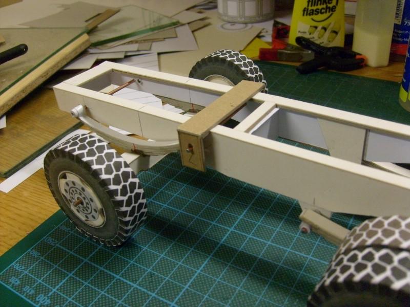 """Kranwagen """" PUMA"""" Eigenbau M1:20 gebaut von klebegold 45k11"""
