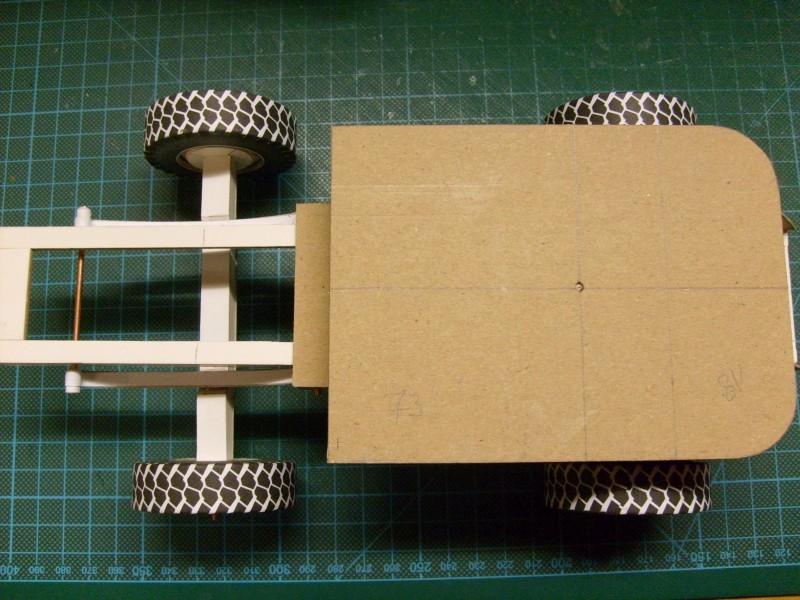 """Kranwagen """" PUMA"""" Eigenbau M1:20 gebaut von klebegold 48k12"""