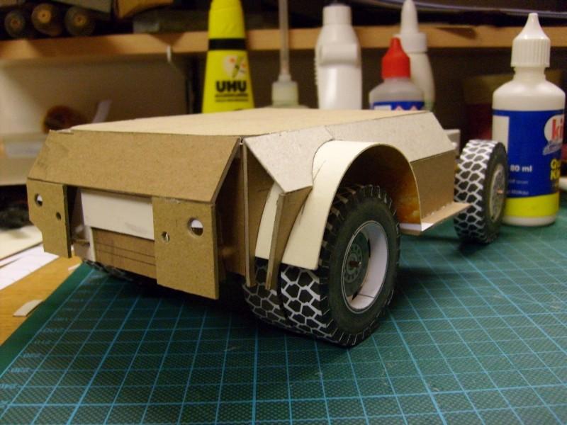 """Kranwagen """" PUMA"""" Eigenbau M1:20 gebaut von klebegold 58k11"""