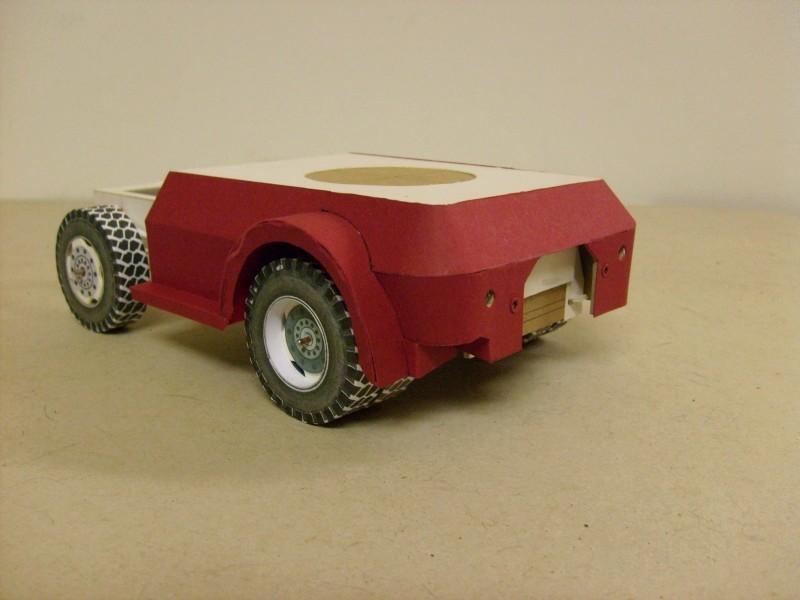 """Kranwagen """" PUMA"""" Eigenbau M1:20 gebaut von klebegold 70k12"""