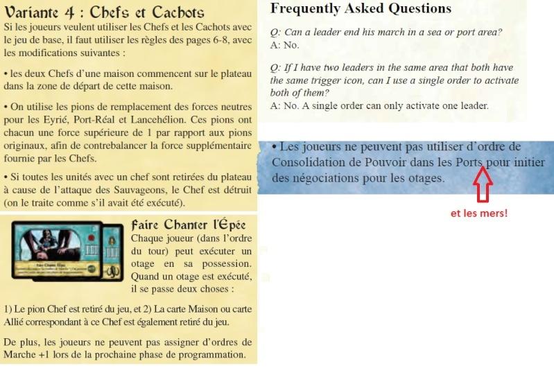 """Qu'est ce que la variante """"Chefs""""? P513"""