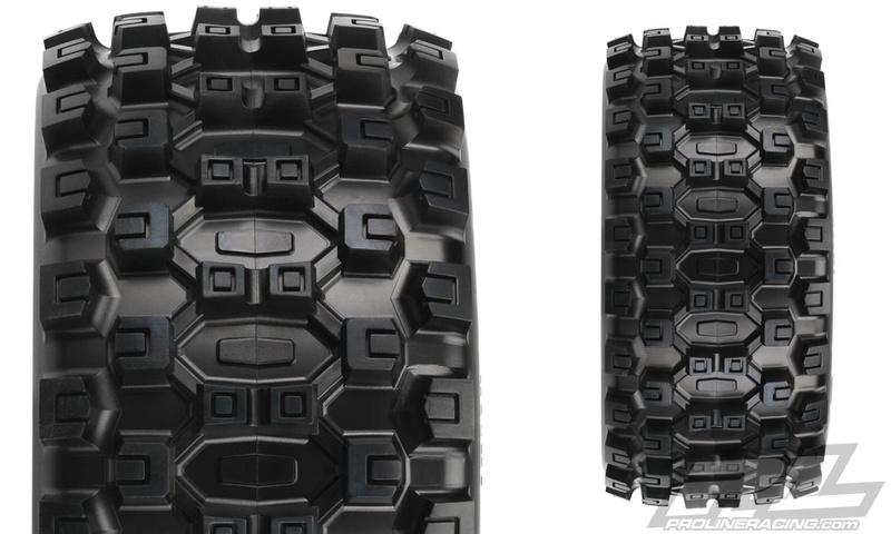 [FUTURE NEW] Pneus Badlands MX43 Pro-Loc & Jantes impulse Pro-Loc pour X-Maxx par Pro-Line 10131-11