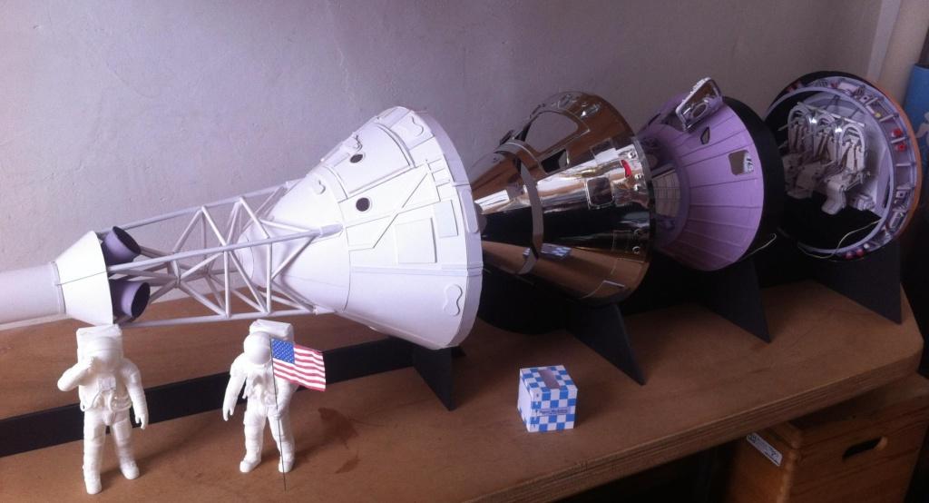 [maquette papier] Apollo command module - 1:12  Img_3510