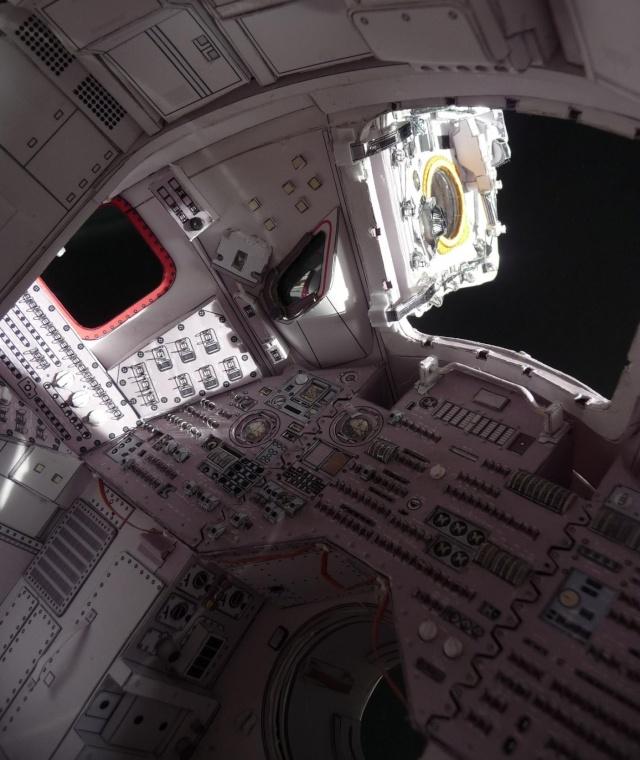 [maquette papier] Apollo command module - 1:12  P1010110