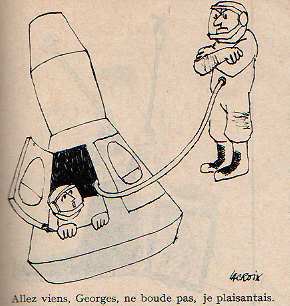 Dessins humoristiques sur l'espace Av196711