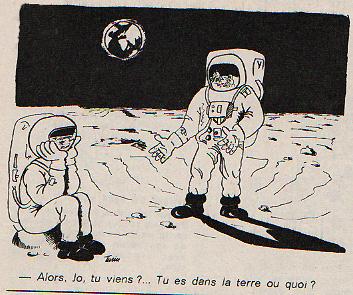 Dessins humoristiques sur l'espace Av197611