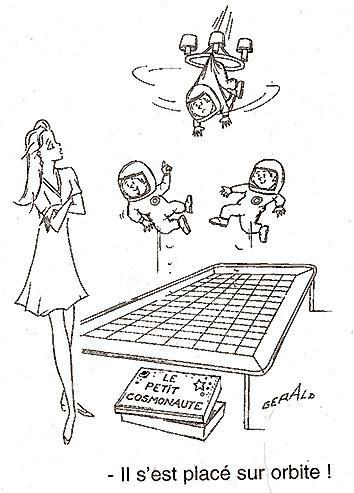 Dessins humoristiques sur l'espace Av200011