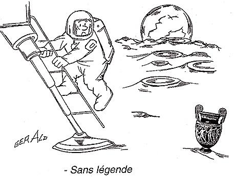 Dessins humoristiques sur l'espace Av200511