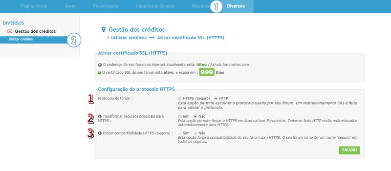 [FAQ] Guia instalação e de passagem do seu fórum para HTTPS 25-02-11