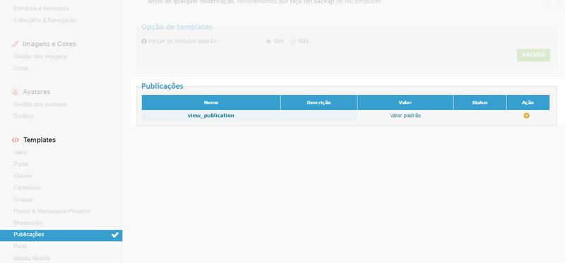 [FAQ] Ativar e gerenciar o sistema de Publicações do fórum Image17