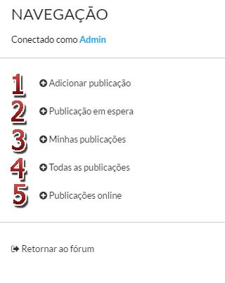 [FAQ] Ativar e gerenciar o sistema de Publicações do fórum Pub_me10