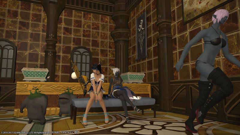 Vos souvenirs dans la maison de guilde Ffxiv_15