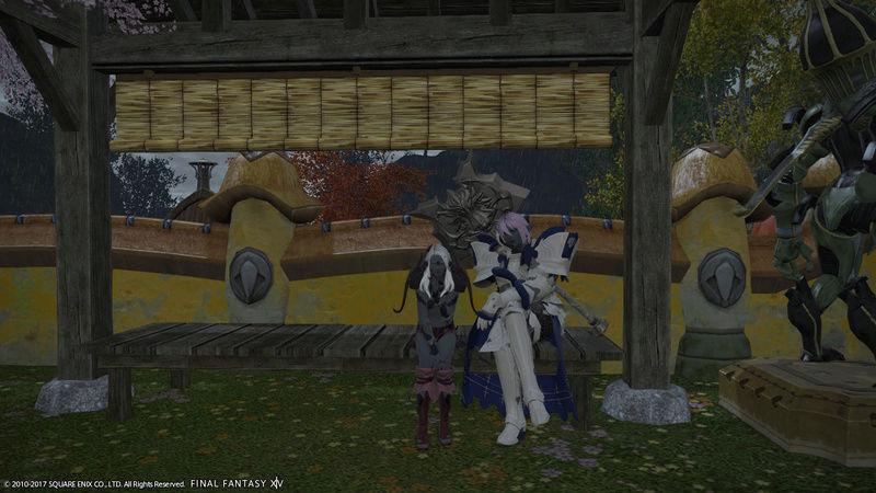 Vos souvenirs dans la maison de guilde Ffxiv_17