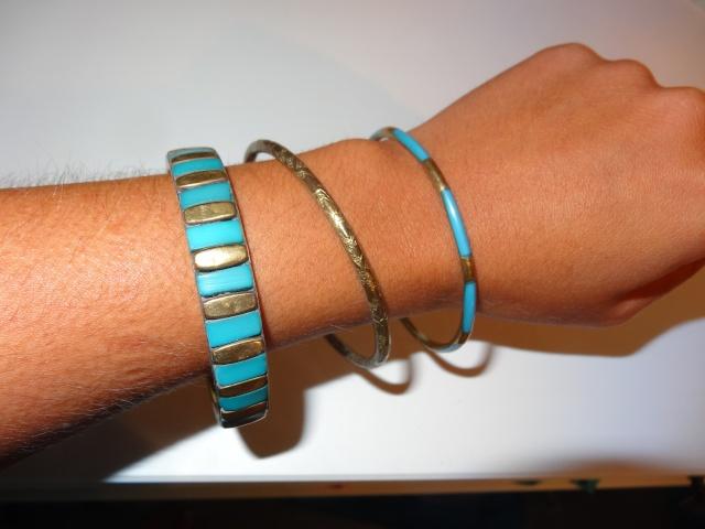 accessoires divers: Sautoires, boucles d'oreilles, bracelets, bijou de cheveux.. Dsc01115
